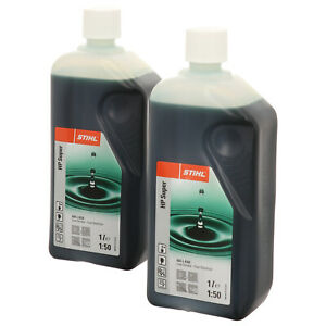 8053 STIHL HP Super Zweitaktmotorenöl Mischöl Zweitaktöl 2 x 1l Flasche
