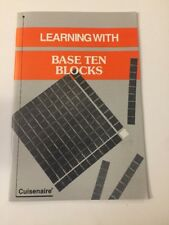 Cuisenaire Booklet Learning With Base Ten Blocks Math LEARNING AID