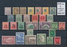 LL96774 Great Britain colonies classic stamps fine lot MH