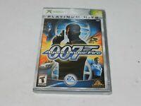 007 Agent Under Fire Microsoft XBOX Game Brand New Sealed James Bond