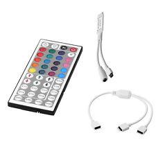 44 Key RGB IR Remote Kontroller +1 zu 2 4pin RGB Kabel für 3528 LED Streifen