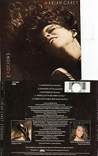 Mariah CAREY Emotions 5-track Jewel case MAXI CD Columbia 44K-74037 1991 USA