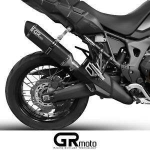 Exhaust for Honda CRF1000 Africa Twin 2015 - 2019 GRmoto Muffler Carbon