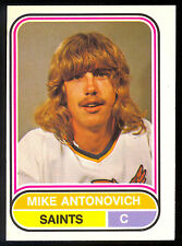 1975 76 OPC O PEE CHEE WHA #111 MIKE ANTONOVICH EX-NM MINNESOTA FIGHTING SAINTS