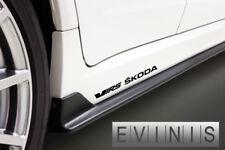 Skoda VRS 2x Side Stickers Car Decals Graphics DEFAULT BLACK