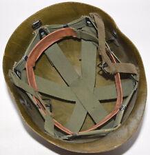 Original Vietnam War Us Airborne M1C Paratrooper Helmet liner 1967 no decal