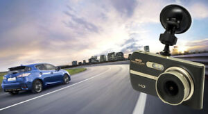 Dual Dash Cam 1/2 Price Sale ! Large Screen Front & Rear Cams High Quality Lens