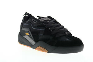 DVS Devious DVF0000326001 Mens Black Suede Skate Inspired Sneakers Shoes