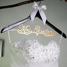 Personalized Wedding Hanger Bridal Hanger Bride Bridesmaid Name Hanger LL039
