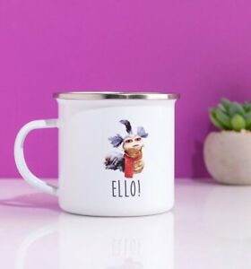 Official Labyrinth Worm Cup Of Tea Enamel Mug