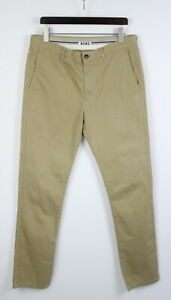 ACNE ROC TWILL Men's (EU) 54 or ~X LARGE Beige Zip Fly Chino Trousers 22144_JS