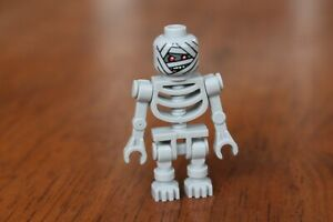 LEGO Pharaoh's Quest Mummy Warrior Grey Skeleton