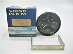 Volvo Penta 9090207 Marine Sterndrive Engine Boat VDO 6000 RPM Tachometer *OEM*