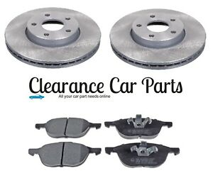 FOR VOLVO S60 1.5 1.6 2.0 PETROL DIESEL FRONT BRAKE DISCS AND PADS 2010 TO 2018
