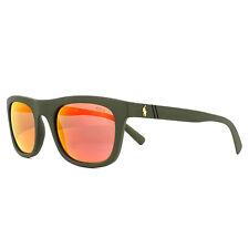 Polo Ralph Lauren gafas de Sol 4126 52166q semi brillante metalizado naranja