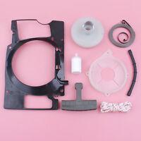 Recoil Starter Pulley Spring Plate For Husqvarna 61 268 272 Fuel Filter Line Kit