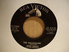 PEREZ PRADO Orchestra -  The Millionaire / Catalania  RCA VICTOR 47-7456  45rpm