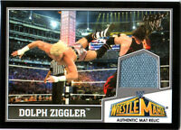 WWE Dolph Ziggler 2013 Topps Best of Used WrestleMania 29 Mat Relic Card DWC