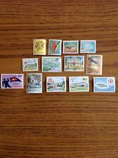 Jamaica Stamps - Set of 13 Individual Stamps, MNH
