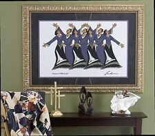 """African American Black Art Print """"PRAISE IS WHAT I DO""""  Andre Thompson"""