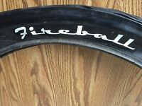 Dyno Fireball TIRE flame tread Slick bicycle tire 24 x 3  GT mint original