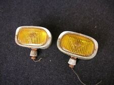 HELLA 128 CHROME FOG LAMP FOGLIGHTS FITS PORSCHE 356 911 AND VOLKSWAGEN BUG COX