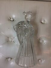 Vintage Avon Angel Crystal Candle Holders