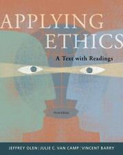 Applying Ethics: A Text with Readings-ExLibrary