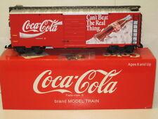 LGB # 4291, Coca-Cola Box Car ,G Scale