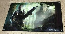 TITANFALL video game thick canvas banner store display poster figure model