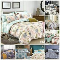 4 Pieces Top Quality 200 Thread Counts 100% Egyptian Cotton Bedding Complete Set