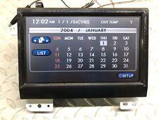 2006 Subaru B9 Tribeca Navigation Display Screen 86281-XA00A LCD Nav TESTED