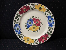 Floral Ges Gesch Decor 148 Handpainted China Plates 9 inch Vintage Flowers