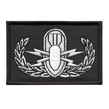 Explosive Ordnance Disposal EOD embroidered bomb squad morale army hook patch