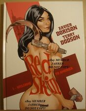 RED SKIN One Tery DODSON Naked HARDCOVER Exclusive EURO VARIANT Nude Cover