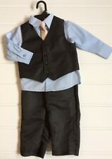 Baby Boy Age 12 months smart wedding outfit Christening formal suit Cute Party