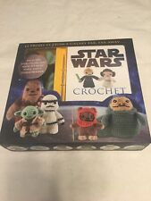 "#15245 Lucy Collin - ""Star Wars Crochet Kit"" -Yoda & Stormtrooper 2015 Disney"