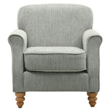 Chenille Fabric Upholstered Occasional Chair Accent Armchair Super Soft Cushion