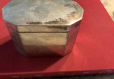Silberdose 800er  - ca. 200 g