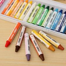 25 Colours/Set Bulk Wax Crayons Children Kid Drawing Gift Colorful Stick DIY HOT