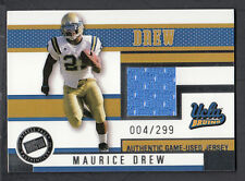 Maurice Jones Drew 2006 Press Pass Game Used Jersey Card UCLA
