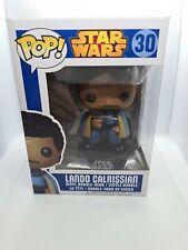 FUNKO POP VINYL! STAR WARS - 30 LANDO CALRISSIAN FIGURE RARE BLUE BOX