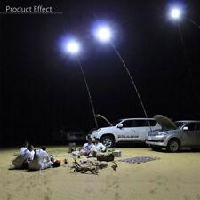 5M Telescopic Fishing Rod LED Camping Lamp Light Remote Car Repair Lantern 2x96W