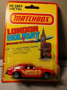 Matchbox   1980 Blister -Toyota Celica - Red - Sun Burner XX Roman numbers ?MIP