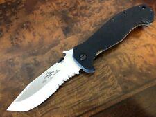 Emerson Knife CQC-15-SFS - Stonewash Serrated Edge - Prestige Dealer