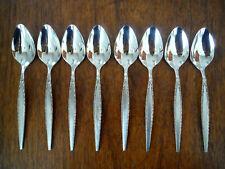 """New listing Set of (8) Oneida Community Stainless Steel Venetia 6-1/8"""" Teaspoons"""