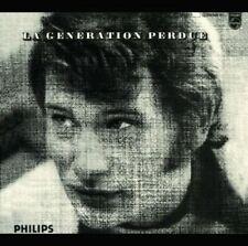 "CD ""LA GENERATION PERDUE""  Johnny Hallyday  NEUF SOUS BLISTER"