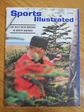 BEST DEER HUNTING IN NORTH AMERICA Sports Illustrated 10/7/63 Magazine No Label
