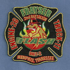 MEMPHIS TENNESSEE FIRE DEPARTMENT ENGINE 26 TRUCK 11 COMPANY PATCH