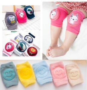 New Kids Safety Crawling Elbow Cushion Infants Toddler Baby Knee Pads UK SELLER